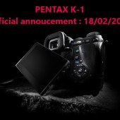 Pentax K-1 full frame DSLR camera rumors