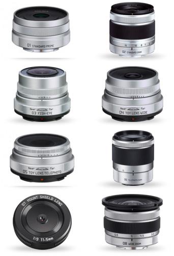 Pentax-Q-lenses
