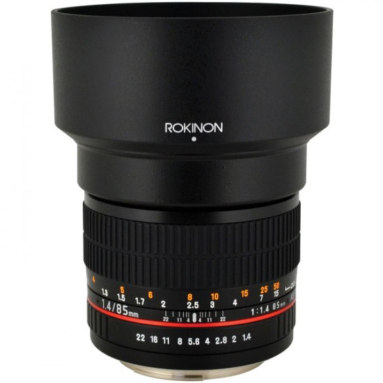 Rokinon 85mm f:1.4 AS IF UMC Lens for Pentax K