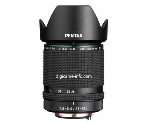HD PENTAX-D FA 28-105mm f:3.5-5.6 ED DC WR lens