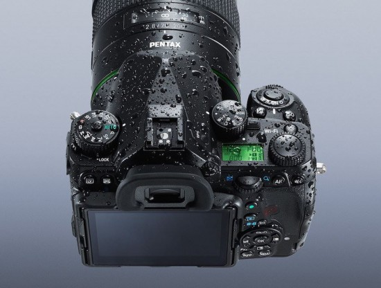 Pentax K-1 DSLR full frame camera 7