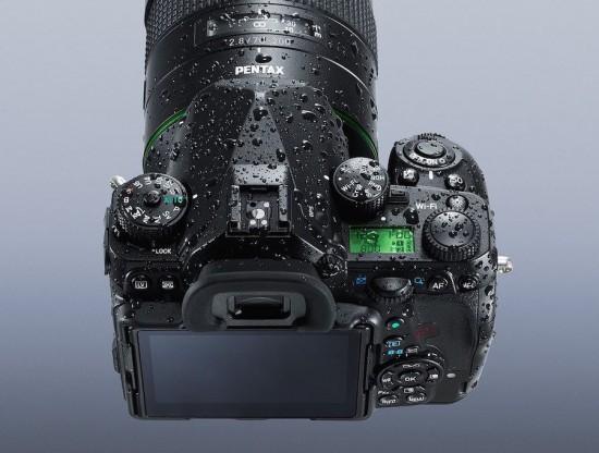 Pentax K-1 DSLR full frame camera 7