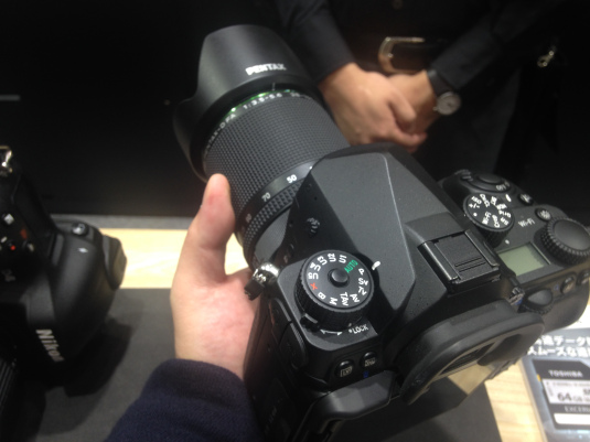 Pentax K-1 at CP+ show 4