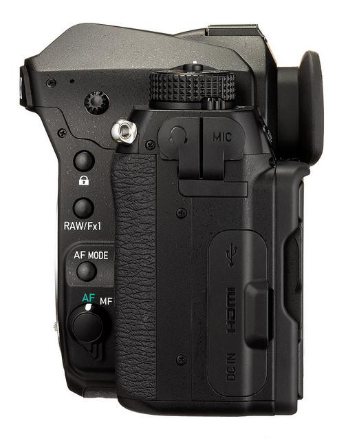 Pentax K-1 full frame DSLR camera 1