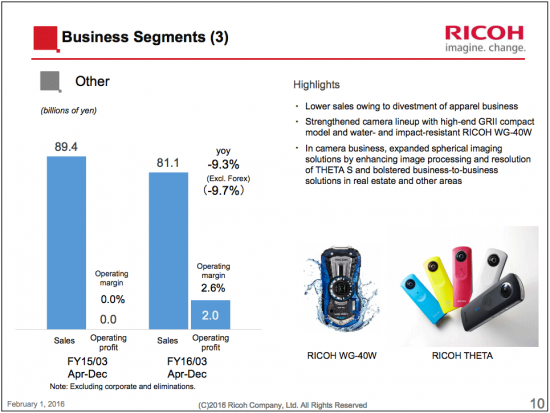 Ricoh-Q3-financial-reports