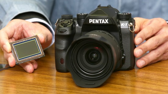 Pentax K-1 sensor