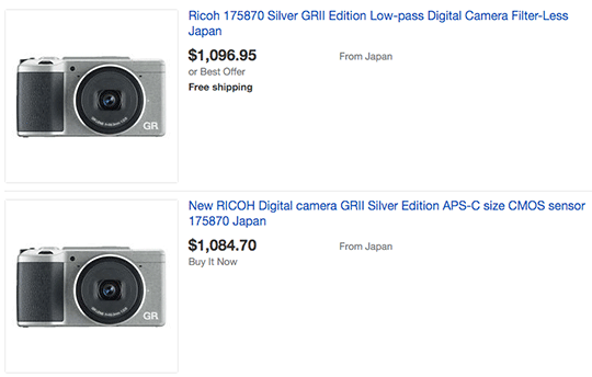 Ricoh-GRII-Silver-Edition-camera-on-ebay