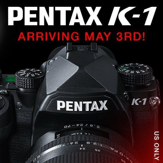 Pentax K-1 shipping date USA