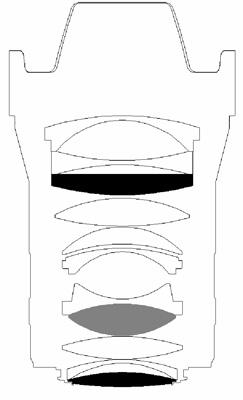 DZoptics Kerlee 35mm f:1.2 full frame DSLR lens design