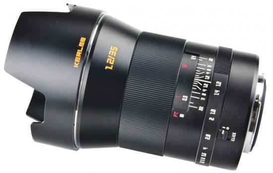 DZoptics-Shenzhen-Dongzheng-Optics-photographic-manual-focus-full-frame-DSLR-Kerlee-35mm-f_1.2-lens