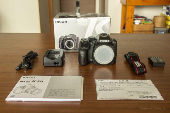 Pentax K-70 DSLR camera 2