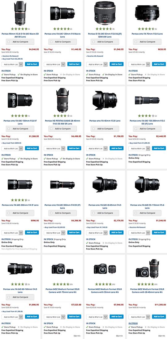Pentax-lens-rebates
