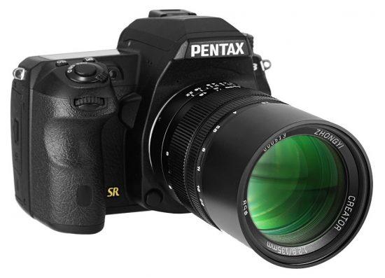 mitakon-zhong-yi-optics-creator-135mm-f2-8-ii-lens-for-pentax-mount