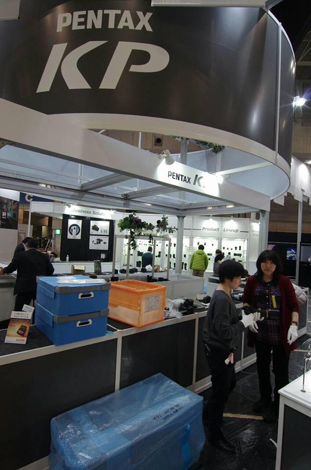 Exhibition Booth Japan : Ricoh booth at the cp show in japan pentax rumors