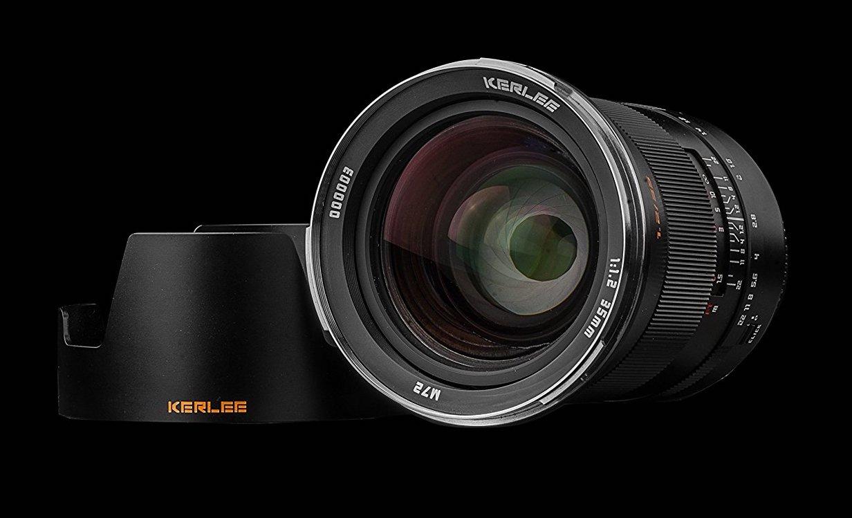 The Kerlee 35mm F 1 2 Full Frame Dslr Lens Is Available