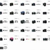 Discontinued Pentax cameras